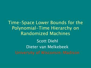 Time-Space Lower Bounds for the Polynomial-Time Hierarchy on Randomized Machines