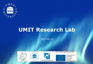 UMIT Research Lab 2012-05-22
