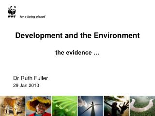 Development and the Environment  the evidence …