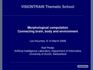 VISIONTRAIN Thematic School