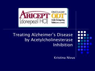 Treating Alzheimer's Disease by Acetylcholinesterase Inhibition