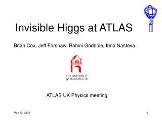 Invisible Higgs at ATLAS