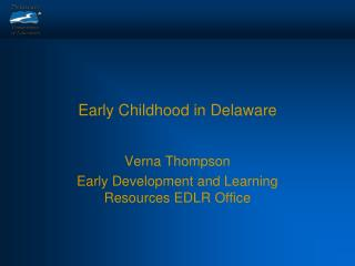 Early Childhood in Delaware