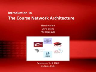Introduction To The Course Network Architecture