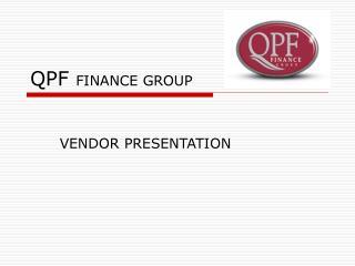 QPF FINANCE GROUP