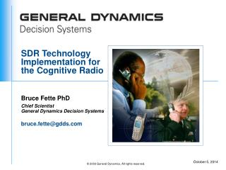 SDR Technology  Implementation for the Cognitive Radio