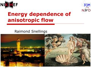 Energy dependence of anisotropic flow