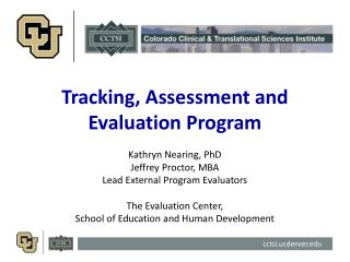 Tracking, Assessment and Evaluation Program