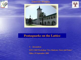Pentaquarks on the Lattice