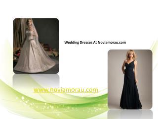 Noviamorau wedding dresses show
