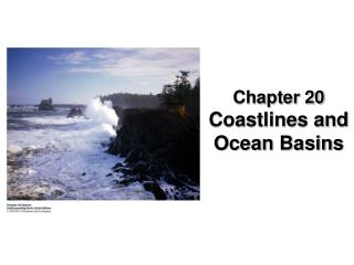 Chapter 20 Coastlines and Ocean Basins