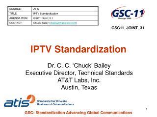 IPTV Standardization