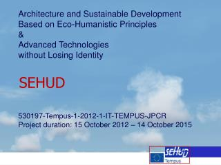 Architecture and Sustainable Development  Based on Eco-Humanistic Principles  &
