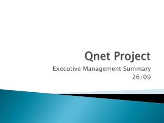 Qnet  Project