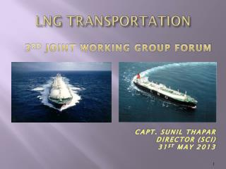 LNG TRANSPORTATION
