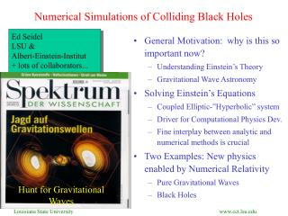 Numerical Simulations of Colliding Black Holes