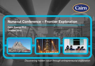 Nunavut Conference – Frontier Exploration