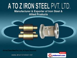 Alloy Steel ,  Hot Die Steel &  Tool Steel