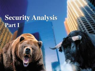 Security Analysis Part I