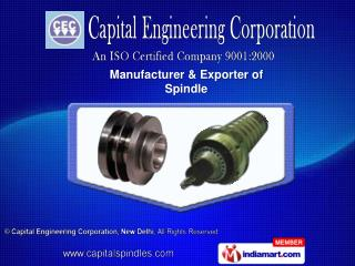 High Frequency Spindles   & Grinding Spindles For VTL