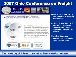 2007 Ohio Conference on Freight