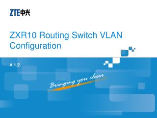 ZXR10 Routing Switch VLAN Configuration