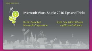 Microsoft Visual Studio 2010 Tips and Tricks