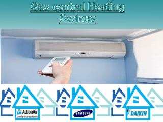 gas central heating sydney