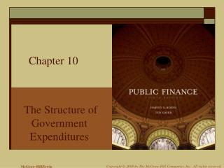 The Structure of Government  Expenditures