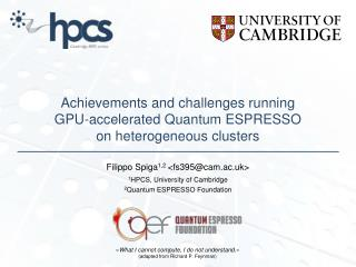 PPT - Achievements and challenges running GPU-accelerated