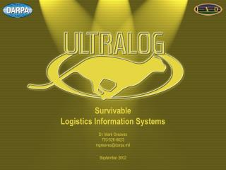 Survivable  Logistics Information Systems