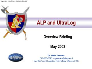 ALP and UltraLog