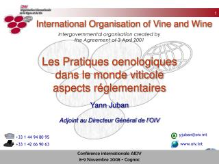 International Organisation of Vine and Wine