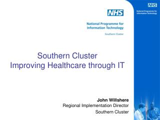 Southern Cluster Improving Healthcare through IT