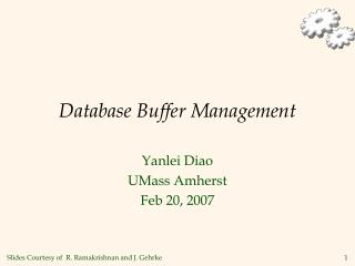Database Buffer Management