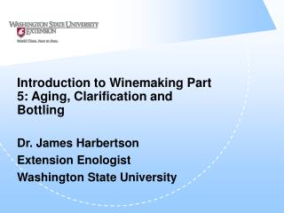 Introduction to Winemaking Part 5: Aging, Clarification and Bottling