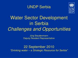 Is 'Access to Water and Sanitation'  an issue in Serbia today?