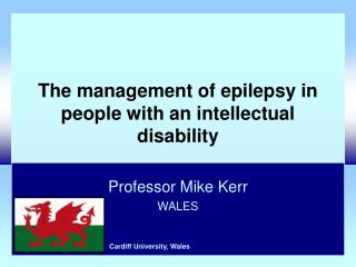 The management of epilepsy in people with an intellectual disability