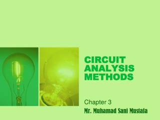 CIRCUIT ANALYSIS METHODS