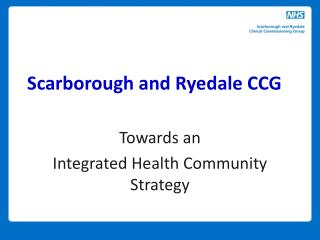 Scarborough and Ryedale CCG