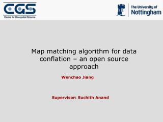 Map matching algorithm for data conflation – an open source approach