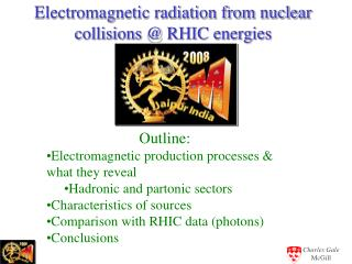 Electromagnetic radiation from nuclear collisions @ RHIC energies