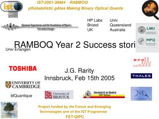 RAMBOQ Year 2 Success stories