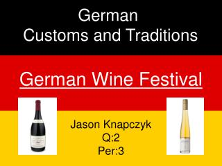 German Wine Festival