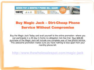 Magic Jack - The VoIP Adapter That Has Set a Precedent