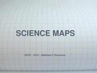 SCIENCE MAPS