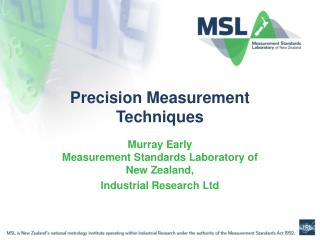 Precision Measurement Techniques