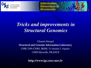 Tricks and improvements in  Structural Genomics