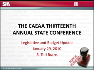 The CAEAA Thirteenth Annual State Conference