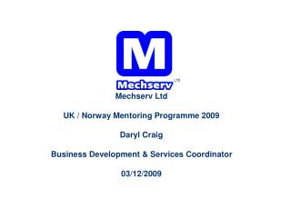 Mechserv Company Profile